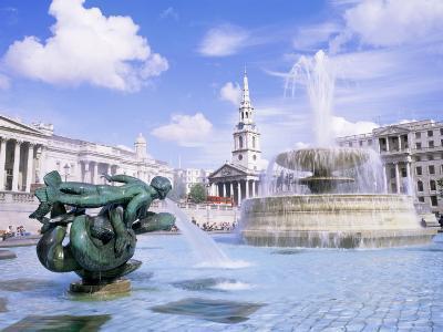 Trafalgar Square, London, England, United Kingdom-Roy Rainford-Photographic Print