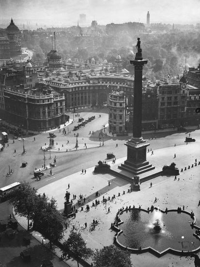 Trafalgar Square, London--Photographic Print