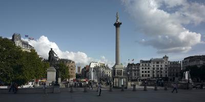 Trafalgar Square Panorama, Westminster, London-Richard Bryant-Photographic Print