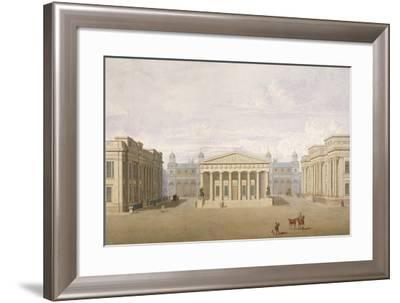 Trafalgar Square, Westminster, London, 1828-John Nash-Framed Giclee Print