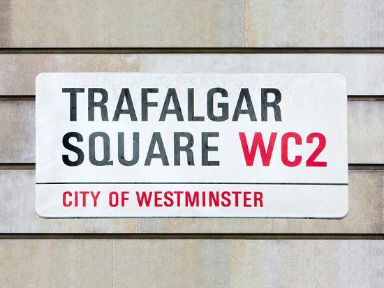 Trafalgar Square-Joseph Eta-Giclee Print