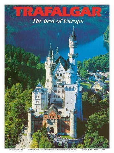 Trafalgar Tours - The Best of Europe - Neuschwanstein Castle - Bavaria, Germany-Pacifica Island Art-Art Print