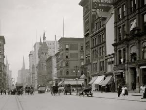 Traffic at Fifth Avenue and Forty-Second Street, New York, N.Y.