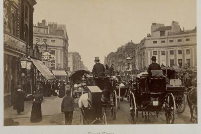 Traffic in Regents Circus-Philip de Bay-Photographic Print