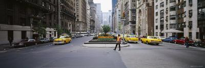 Traffic on the Road in a City, Park Avenue, Manhattan, New York City, New York, USA,--Photographic Print
