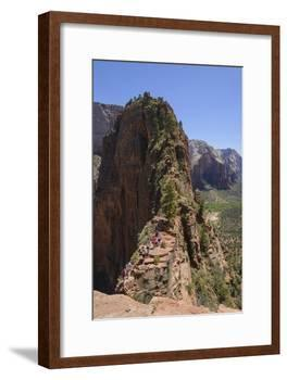Trail to Angels Landing, Zion National Park, Utah, United States of America, North America-Gary Cook-Framed Photographic Print