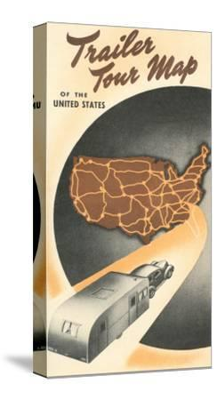 Trailer Tour Map of the United States