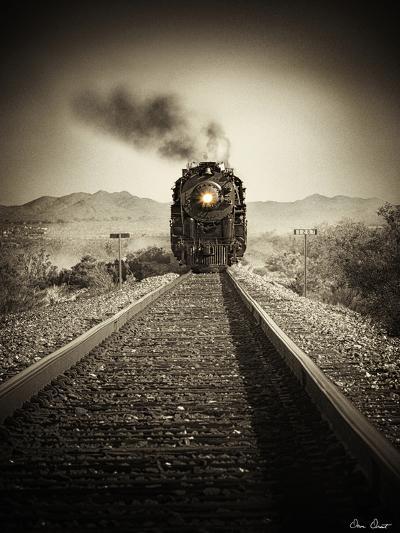 Train Arrival II-David Drost-Photographic Print