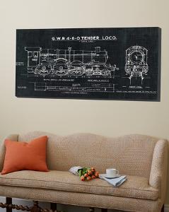 Train Blueprint III Black