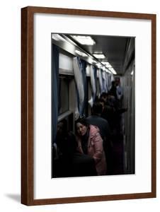 Train by Night, Hangzhou, China