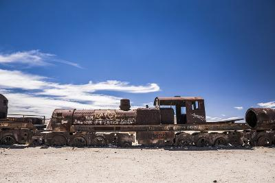 Train Cemetery (Train Graveyard), Uyuni, Bolivia, South America-Matthew Williams-Ellis-Photographic Print