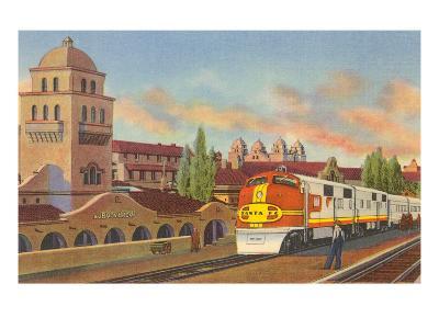 Train Depot, Albuquerque, New Mexico--Art Print