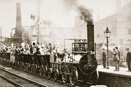 Train Number One, July 1925-Unknown-Photographic Print