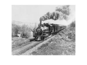 Train of the Northern Pacific Railway Co.