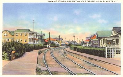 Train Tracks, Wrightsville Beach, North Carolina