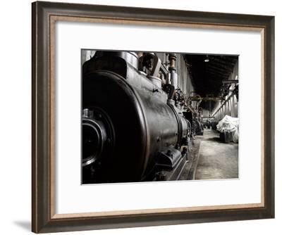 Train Yard-May May-Framed Art Print