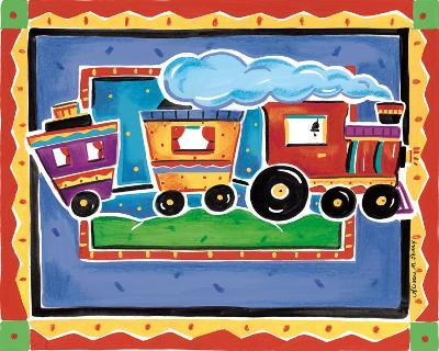 Train-Alison Jerry-Art Print