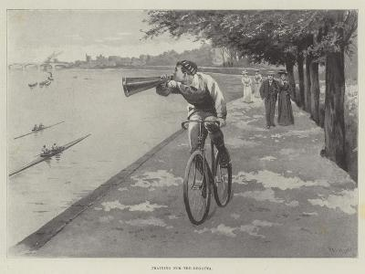 Training for the Regatta-Paul Frenzeny-Giclee Print
