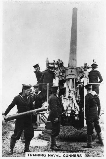 Training Naval Gunners, Whale Island, Portsmouth, Hampshire, 1937--Giclee Print
