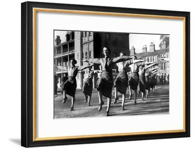 Training of Auxiliary Territorial Service-Associated Newspapers-Framed Photo