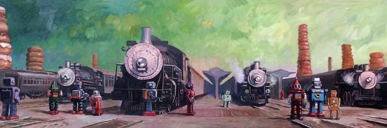 Trainyard-Eric Joyner-Giclee Print