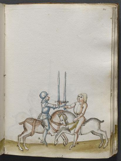Traité de combat (tradition de maître Johann Lichtenauer)--Giclee Print