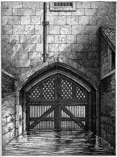 Traitors' Gate, Tower of London, 1801-Charles Tomkins-Giclee Print