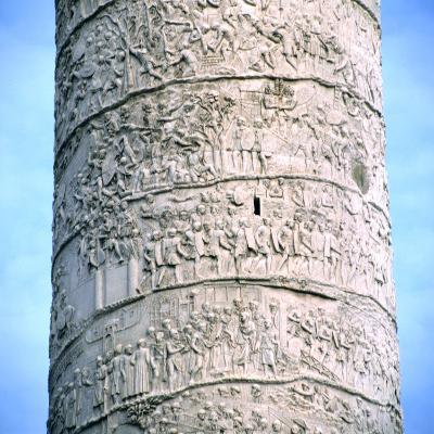 Trajan's Column, Rome, 106-113--Photographic Print