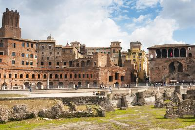 Trajan's Forum, Rome, UNESCO World Heritage Site, Latium, Italy, Europe-Nico Tondini-Photographic Print