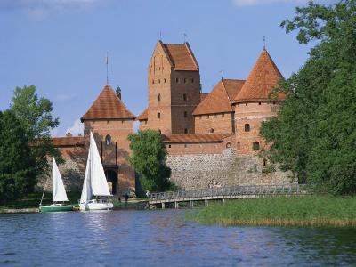 Trakai Castle in Lithuania, Baltic States, Europe-Richardson Rolf-Photographic Print