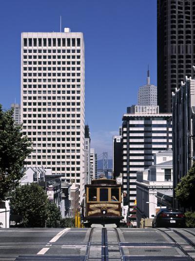 Tram, San Francisco, USA-Neil Farrin-Photographic Print