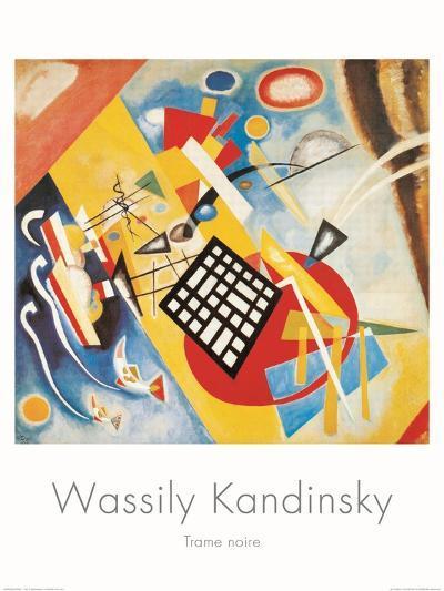 Trame Noire, c.1922-Wassily Kandinsky-Art Print