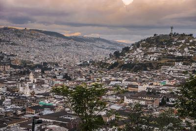 Tramonto a Quito-tommypic-Photographic Print