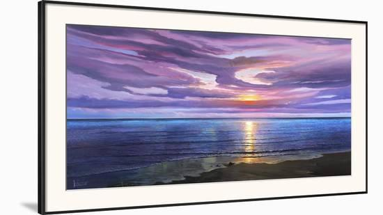 Tramonto sognante-Adriano Galasso-Framed Art Print