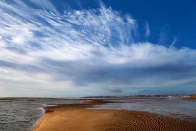 Tramore Strand and Town from the Dunes, Tramore, County Waterford, Ireland--Photographic Print