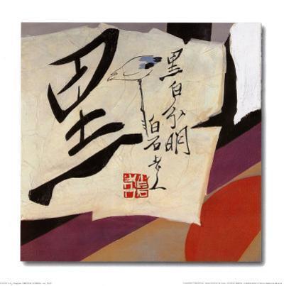 Oriental Symbols III by Trang Lee