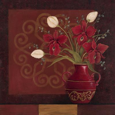 Tranquil Bouquet II-Jo Moulton-Art Print