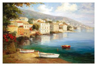 Tranquil Cove-J^ Price-Art Print