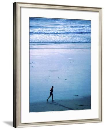 Tranquil Jog--Framed Photographic Print