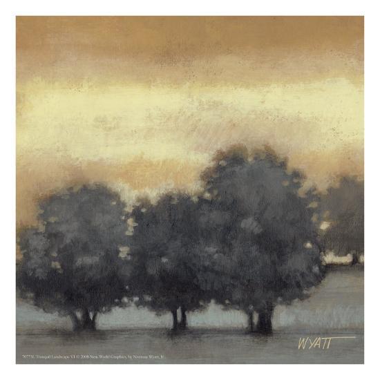 Tranquil Landscape VI-Norman Wyatt Jr^-Art Print