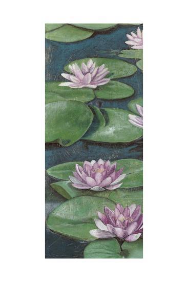 Tranquil Lilies I-Naomi McCavitt-Art Print