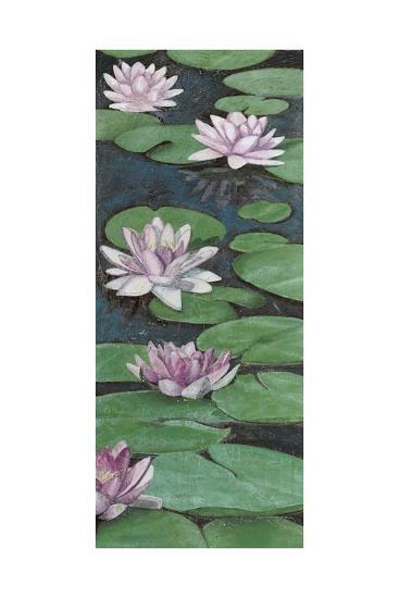 Tranquil Lilies II-Naomi McCavitt-Art Print