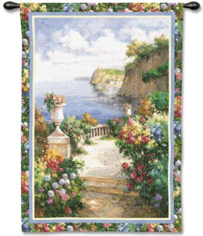 Tranquil Overlook-James Reed-Wall Tapestry