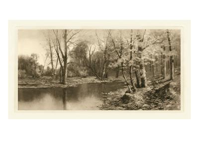 Tranquil Riverscape I-Julian Rix-Art Print