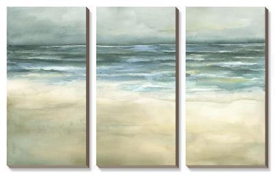 Tranquil Sea-Jennifer Goldberger-Canvas Art Set