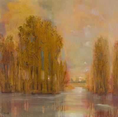 Tranquil Setting IV- Hall-Giclee Print