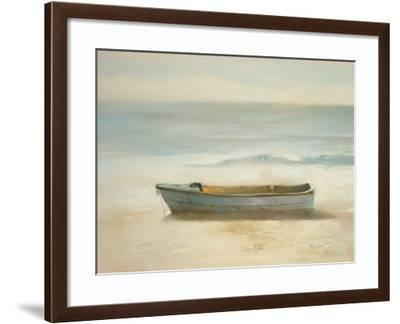 Tranquil Shore-A. Micher-Framed Art Print