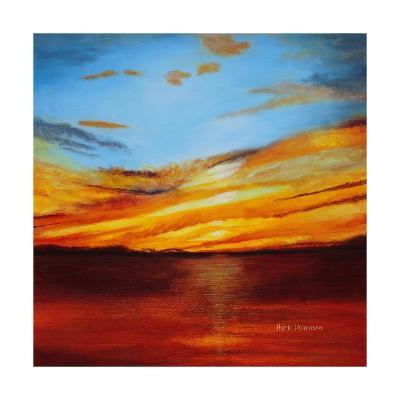 Tranquil Sunset-Herb Dickinson-Art Print