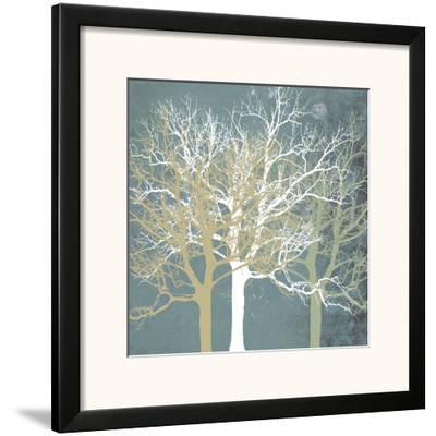 Tranquil Trees-Erin Clark-Framed Art Print