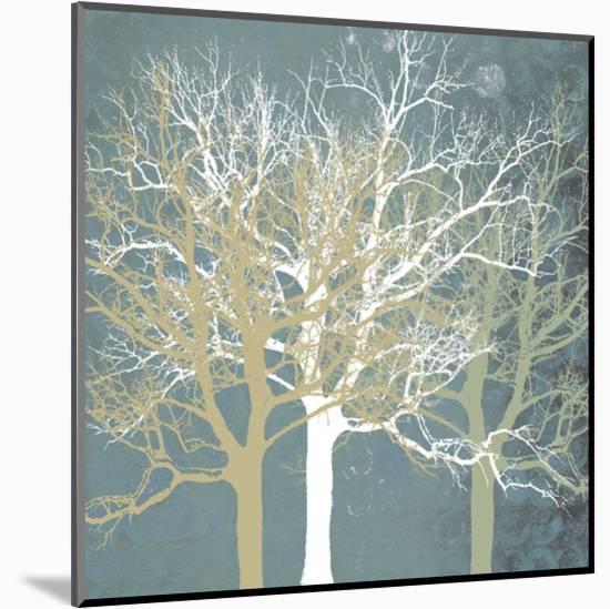 Tranquil Trees-Erin Clark-Mounted Art Print
